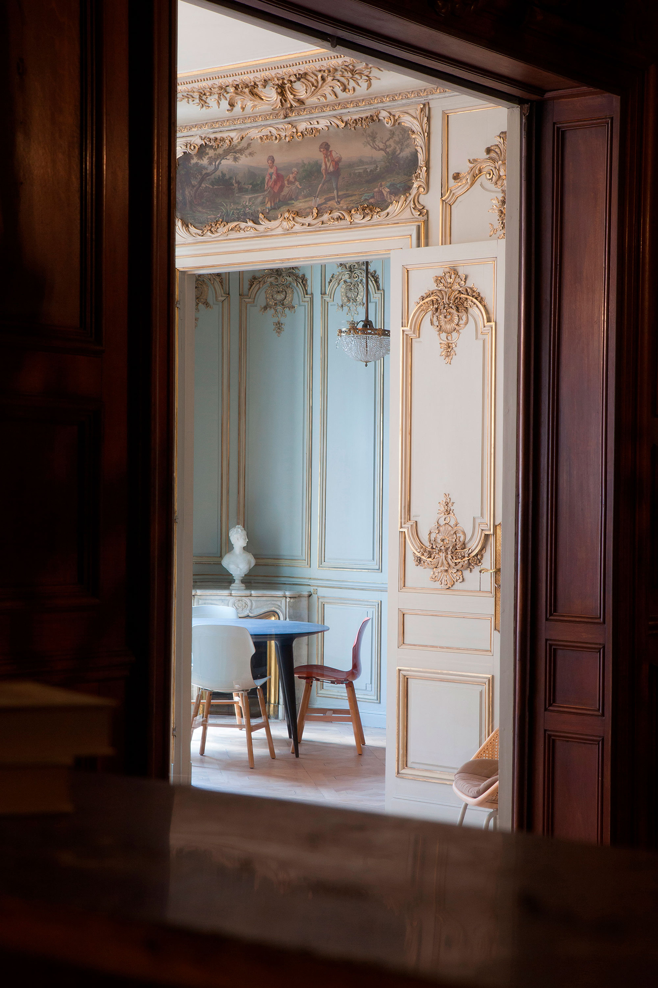 intérieur classique reflet rénovation décoration