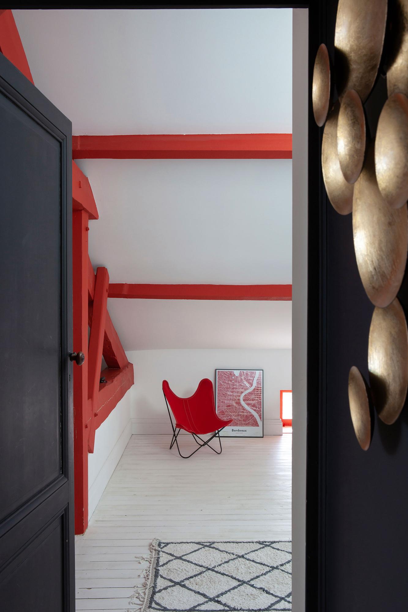 intérieur chambre décoration couleur
