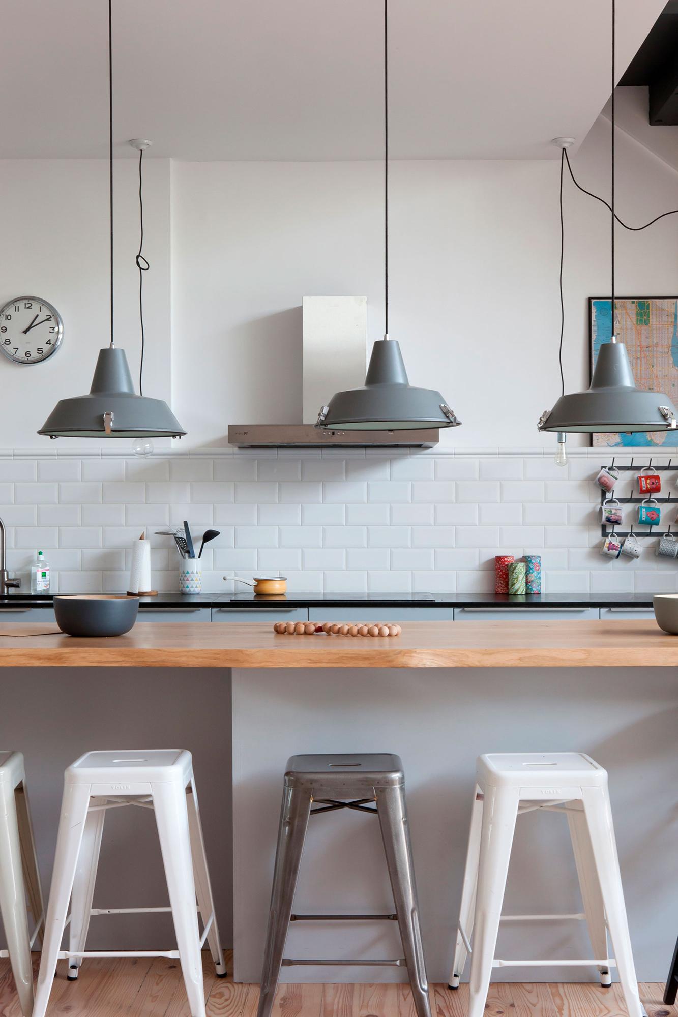 intérieur cuisine comptoir décoration