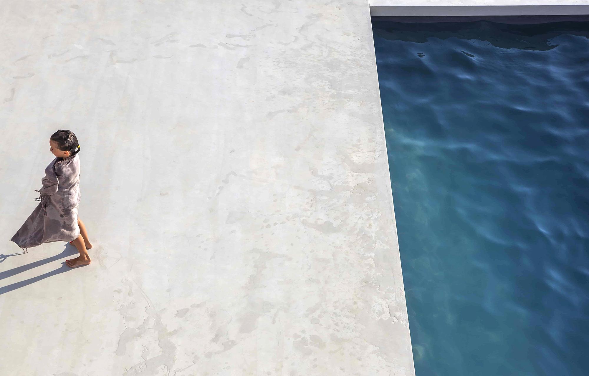 plongée sortie de bain