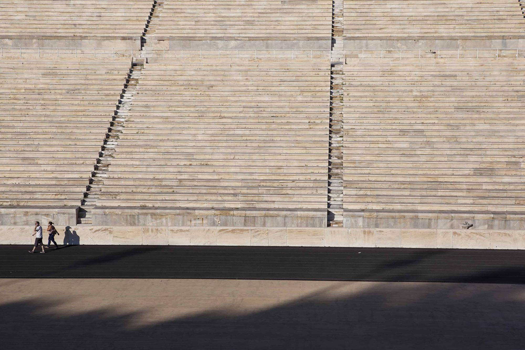 Athènes stade Panathénée