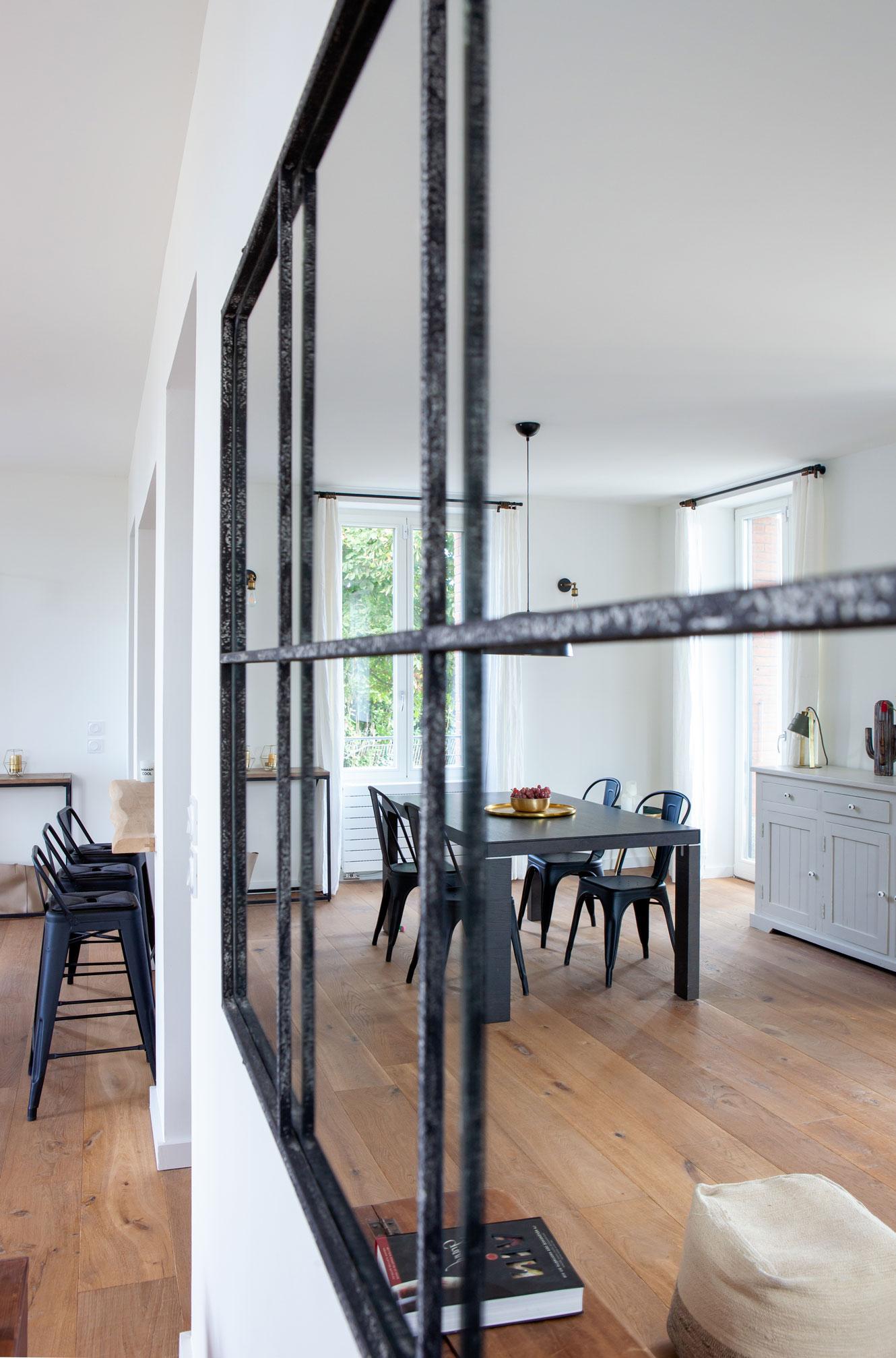 décoration intérieur reflet
