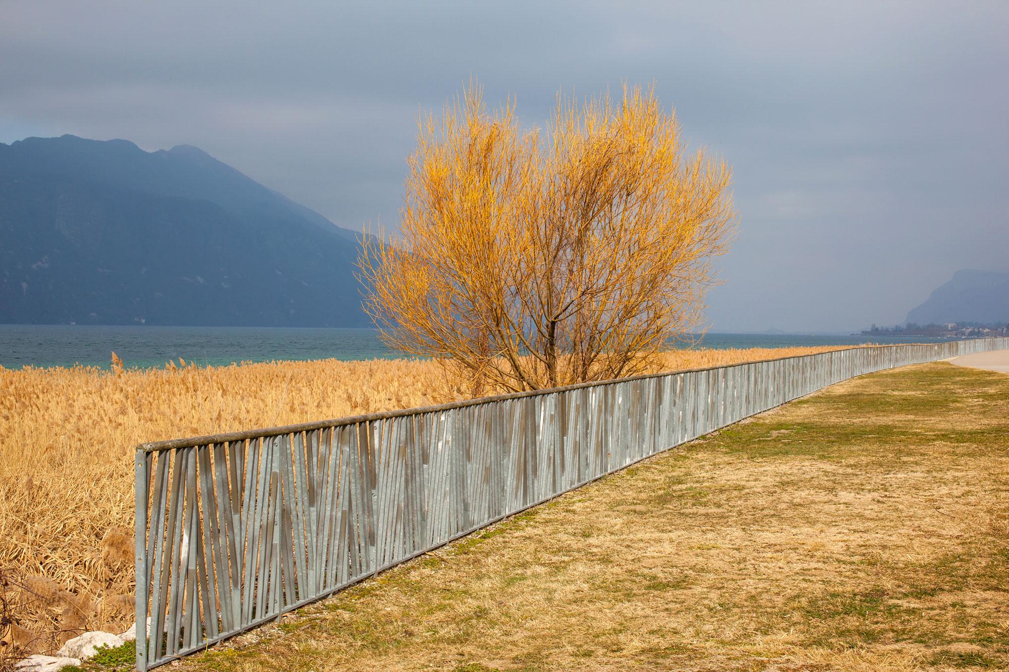 bord du lac Aix les Bains