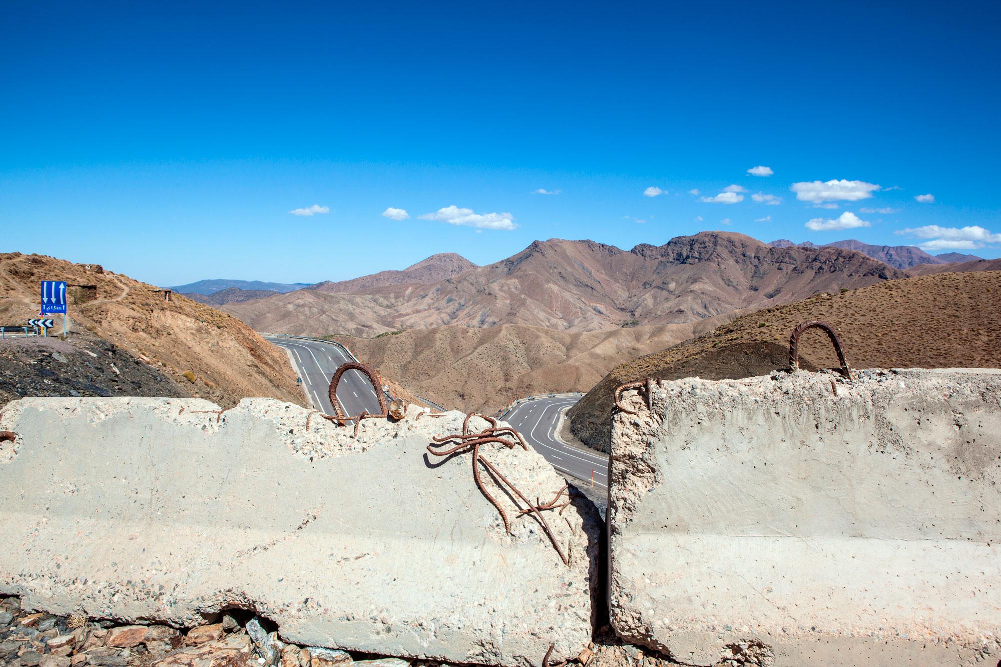 col de Tichka Maroc route photographie