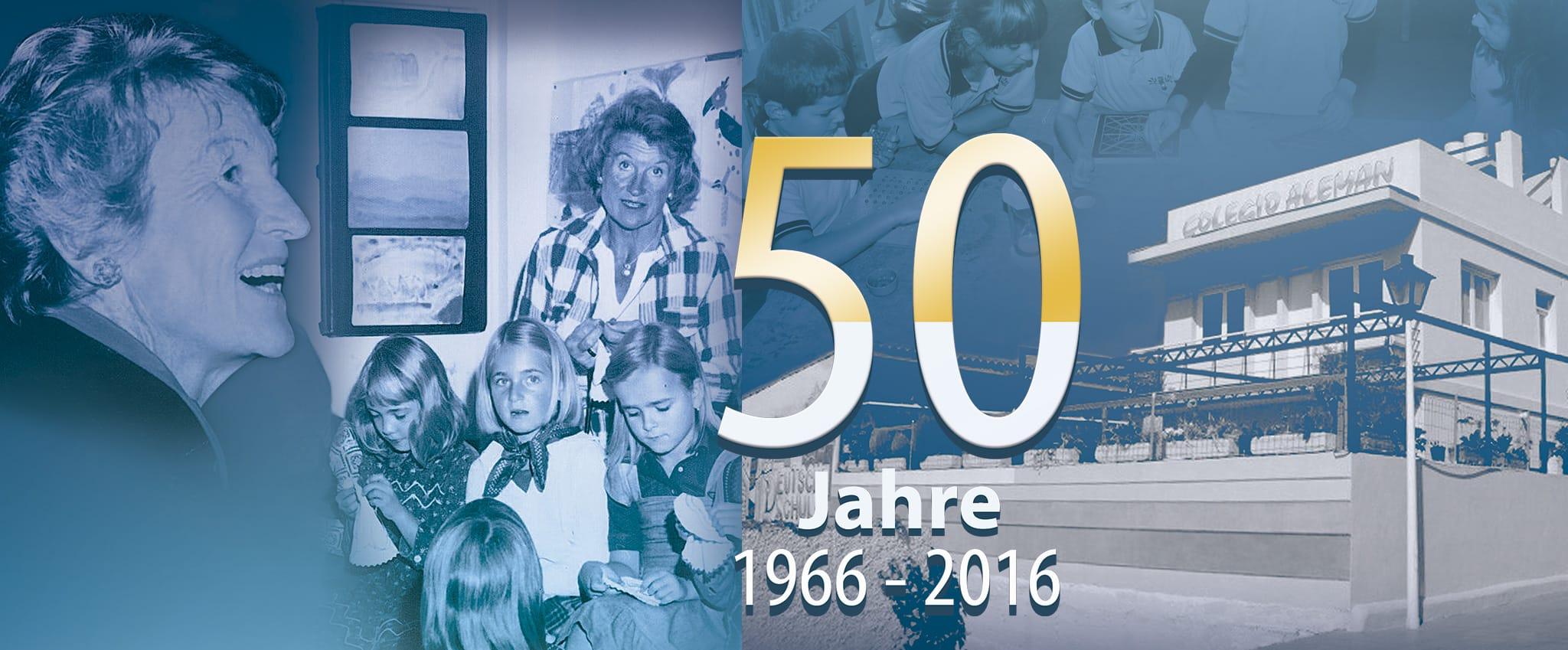 Rosemarie von Levetzow 50 Años CADS 1966 - 2016