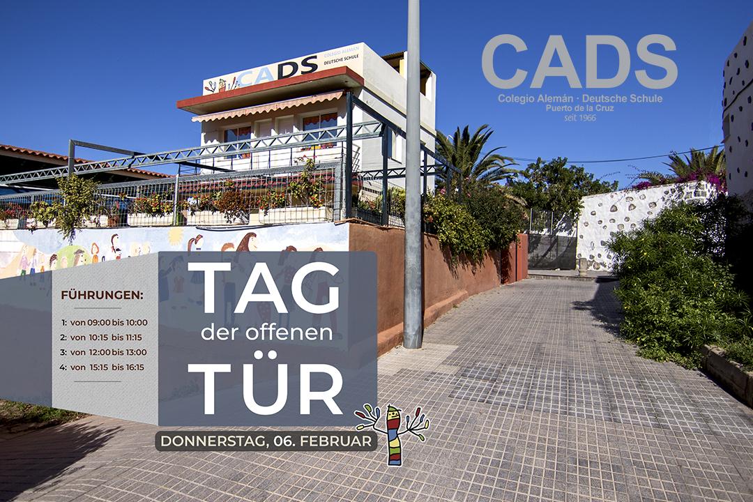 Poster informativo Jornada puertas abiertas 2020