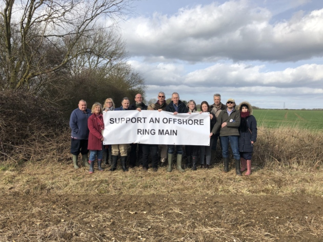 Necton Substations Action Group are campaigning for an offshore ring main  Picture: Dan Bennett