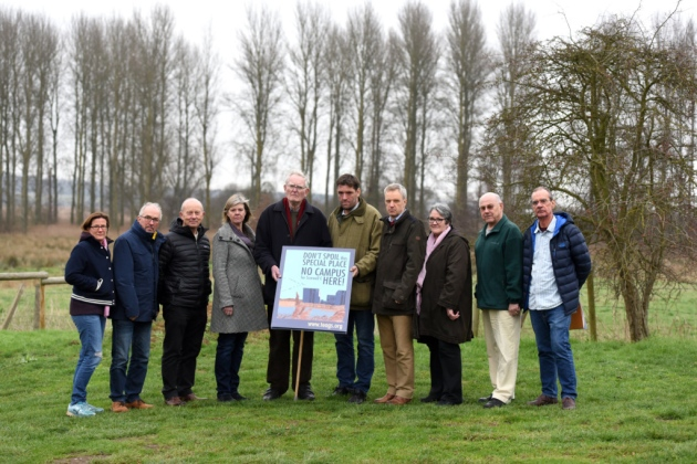 Campaigners including the Therberton and Eastbridge Action Group on Sizewell (TEAGS), B1122 Action Group and MinsmereLevels Stakeholder Group, pictured, have criticised EDF Energy's consultation Picture: SARAH LUCY BROWN