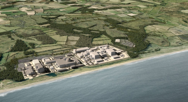 An artist's impression of what Sizewell C will look like. Final plans are set to be submitted in 2020 Picture: EDF ENERGY