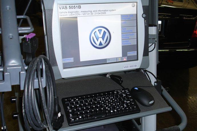 Authorised VAG vehicle diagnostics
