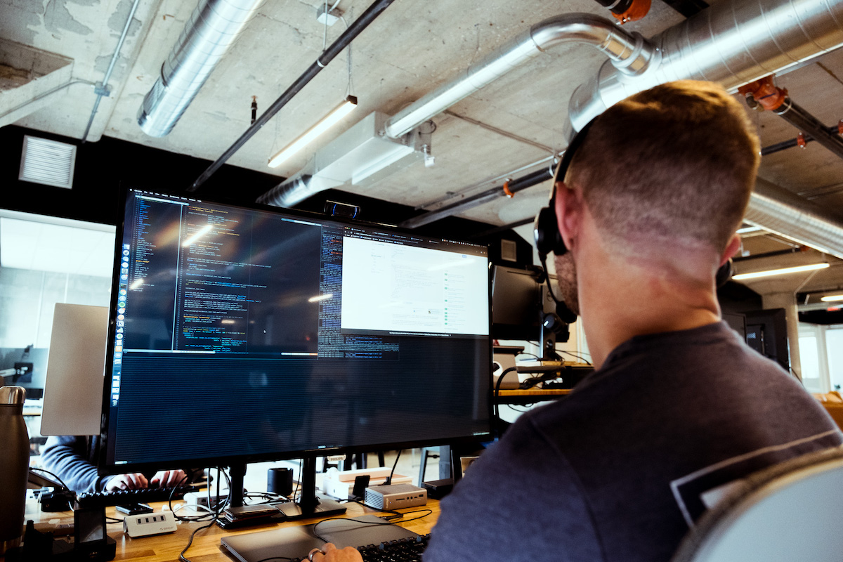 developer working on rails project