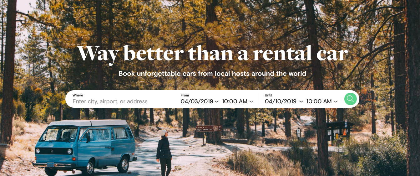 header image from turo website