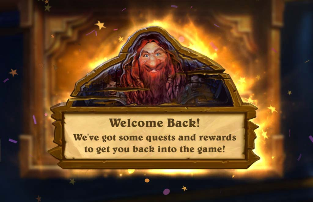 Blizzard Hearthstone Welcome Quest
