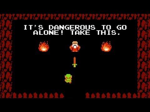 Zelda Old Man Meme