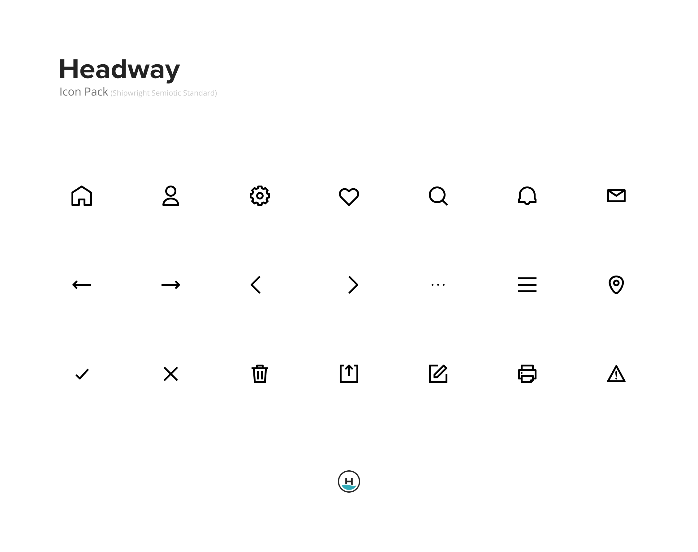 Full Headway Icon Pack