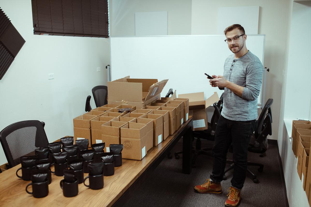 packaging coffee mugs gifts
