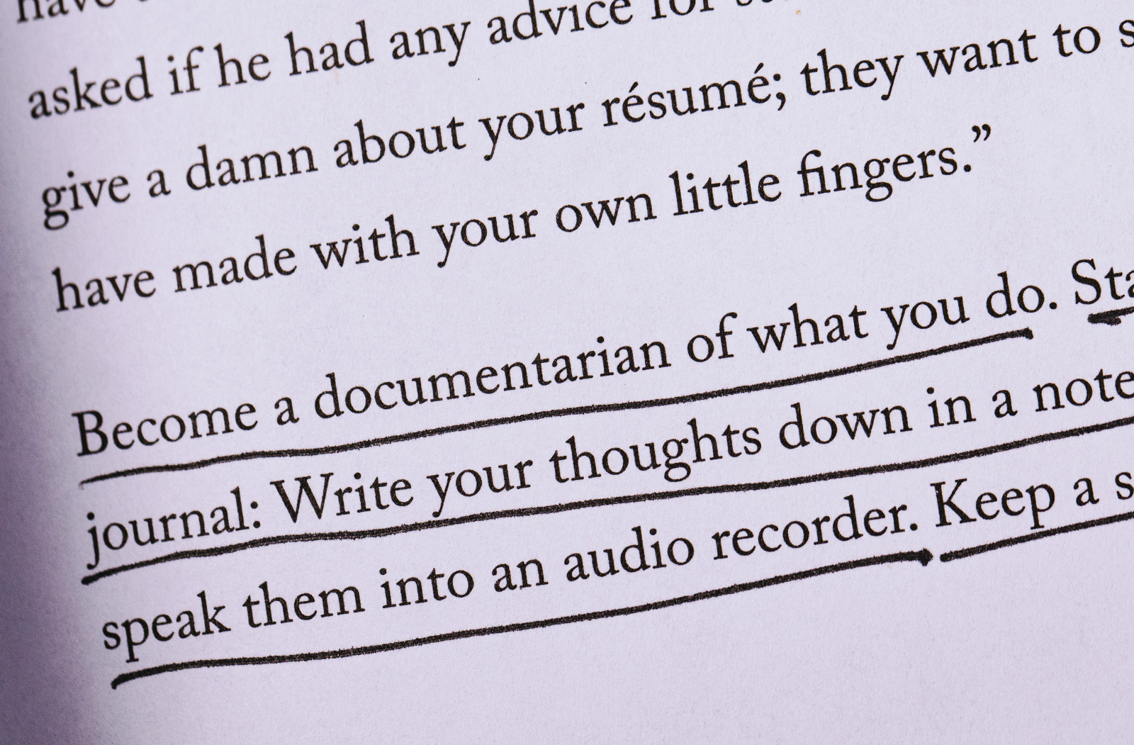 Document Your Process