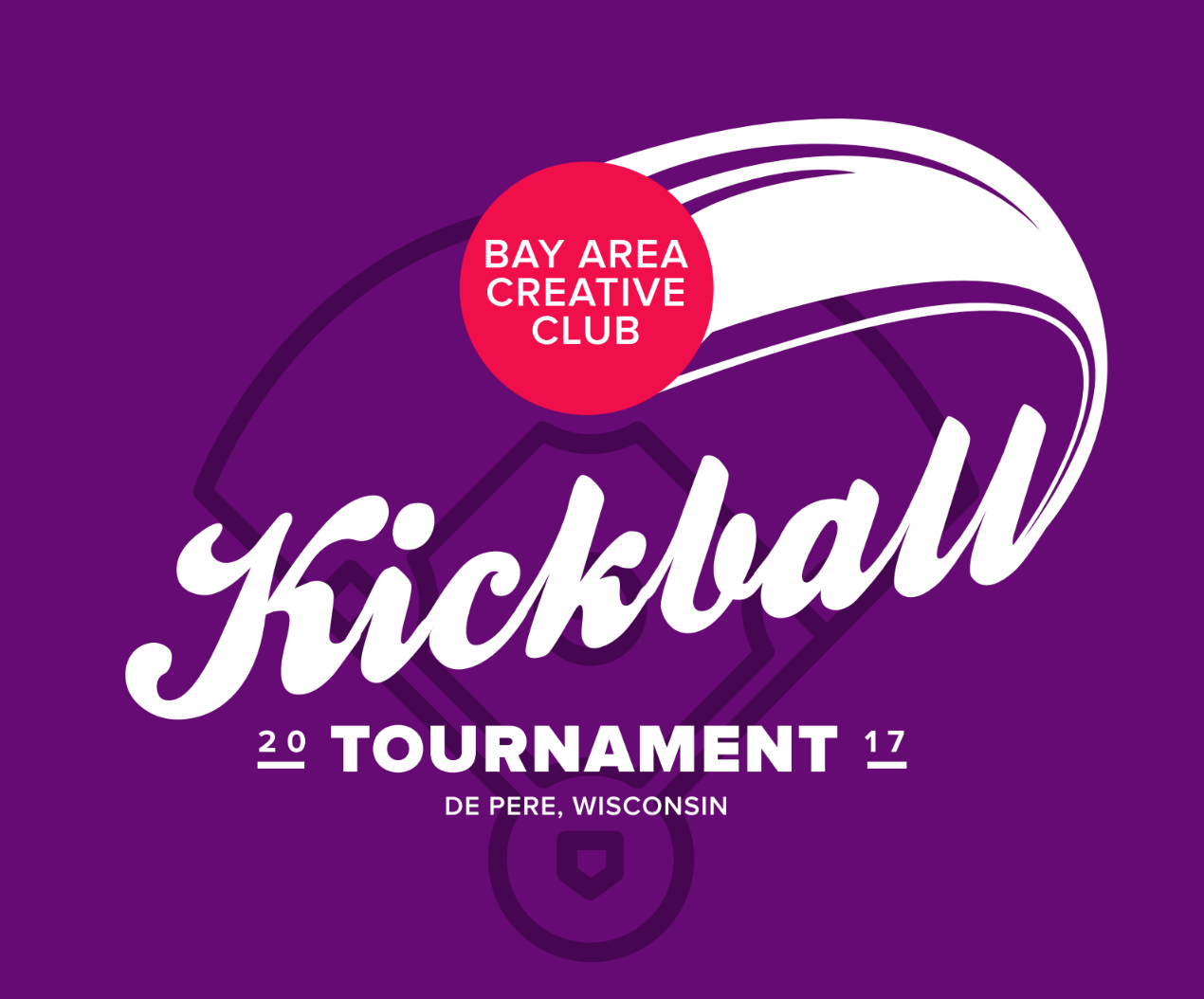 kickball tournament promotional graphic