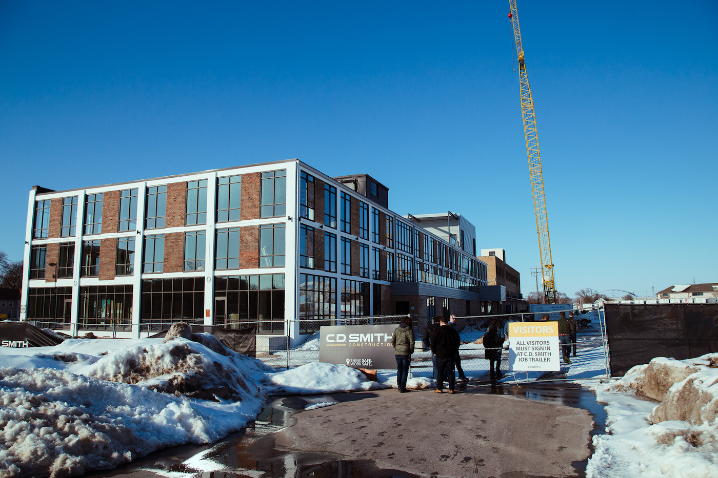 new headway office building green bay