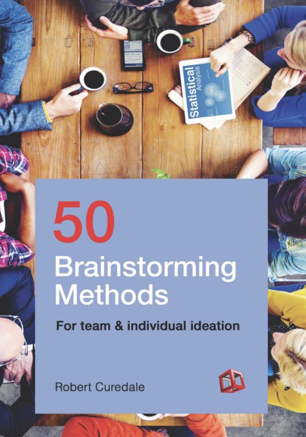 50 brainstorming methods book cover