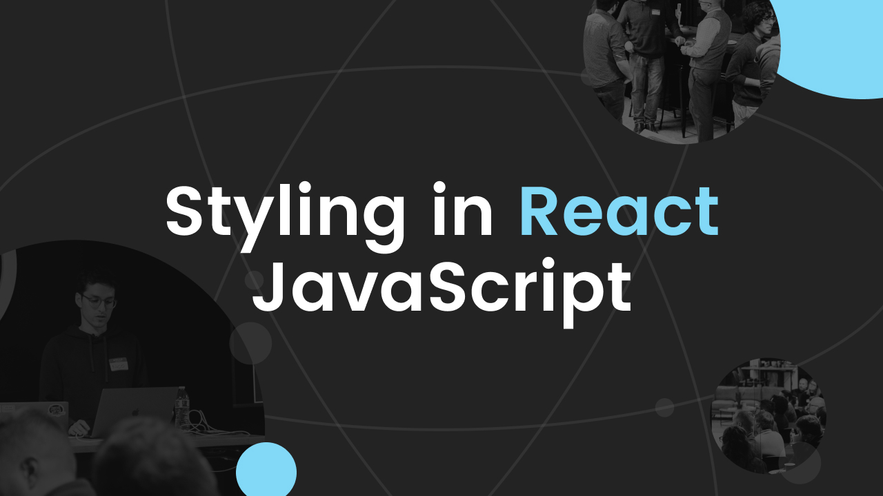 styling in react event graphic