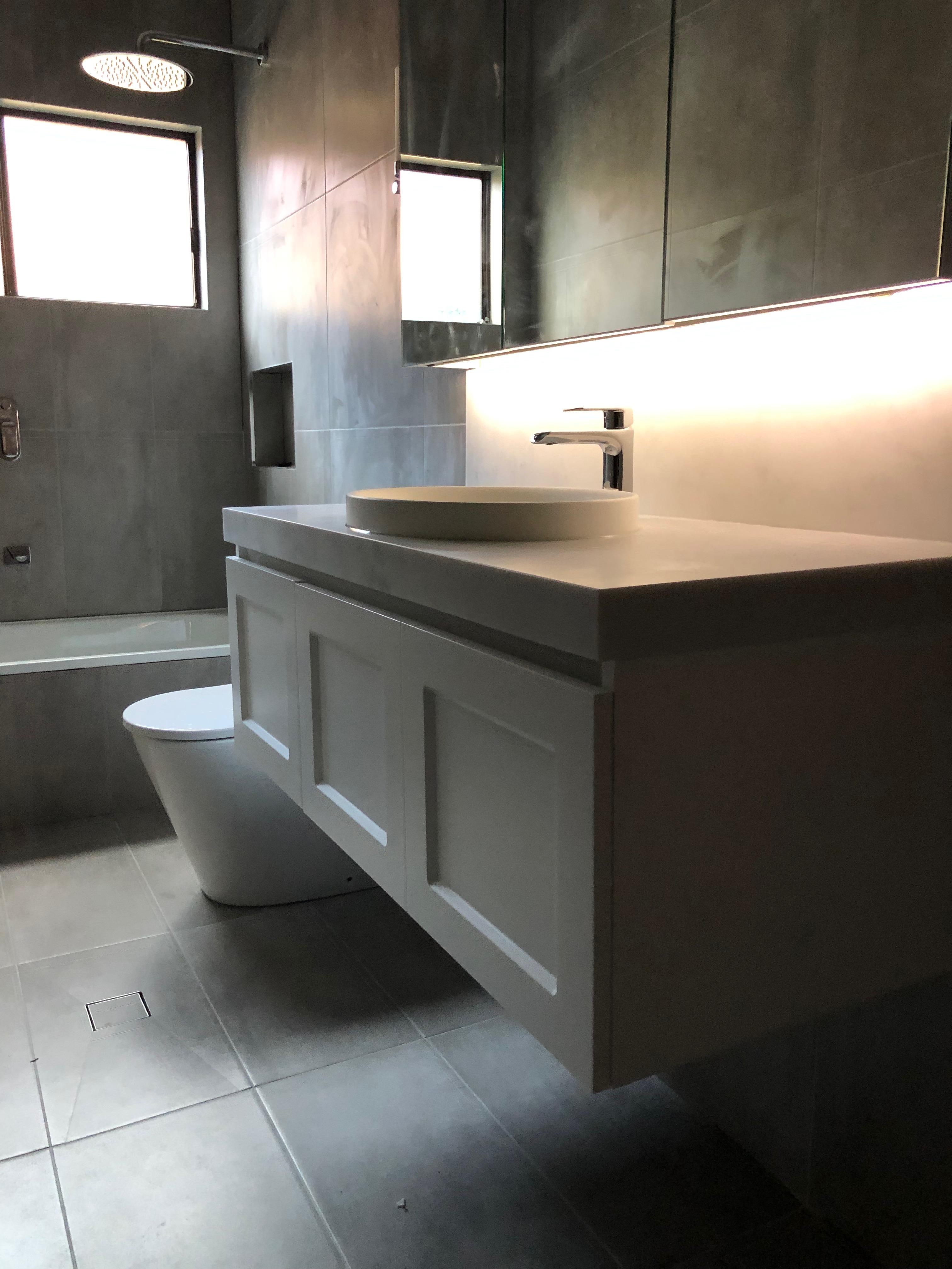 photo of bathroom renovation in Botany