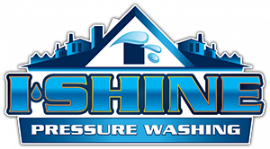 ishine pressure washing logo