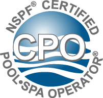 We are a Certified Pool Operator