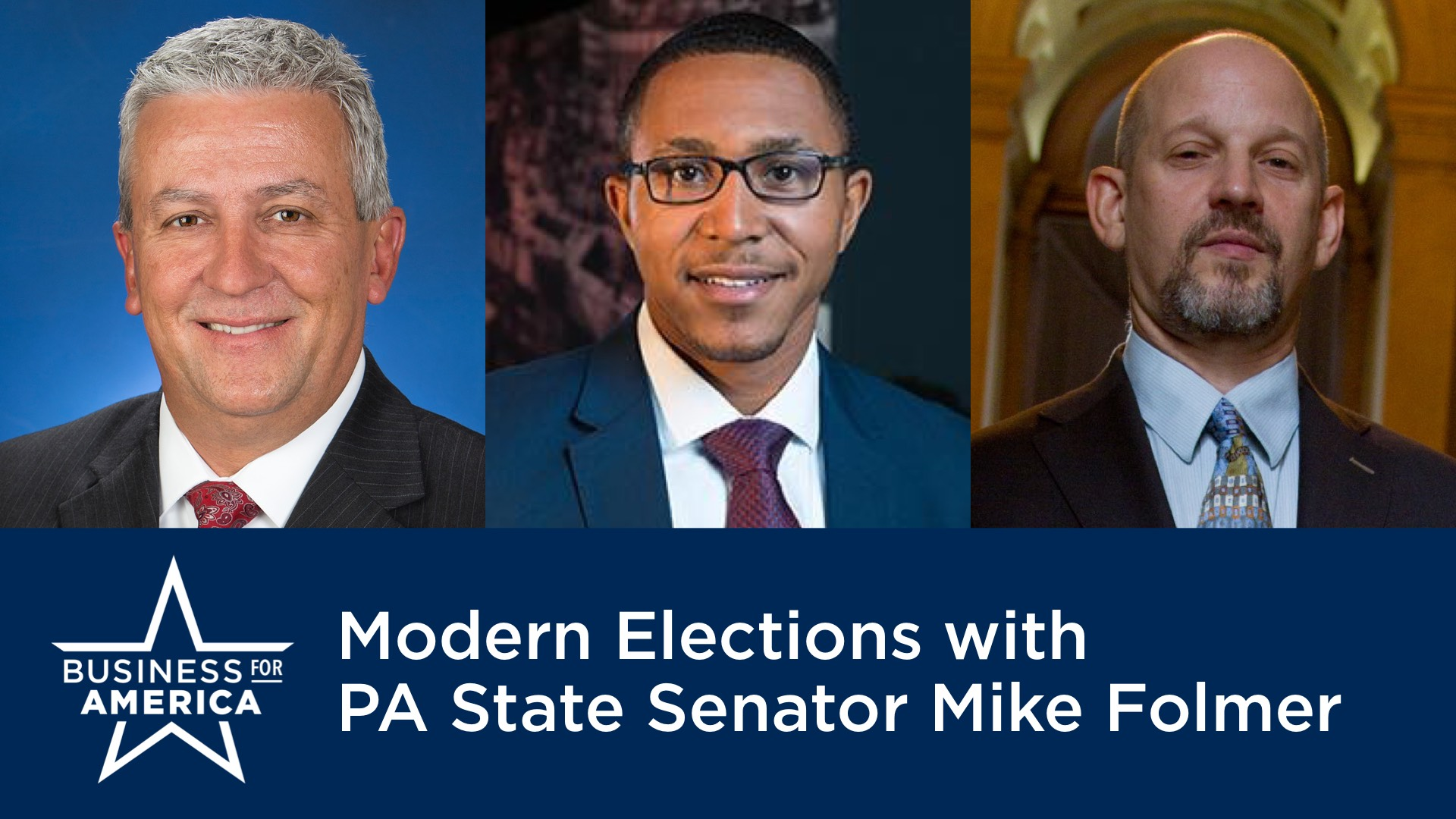 Modern Elections with Pennsylvania State Senator Mike Folmer