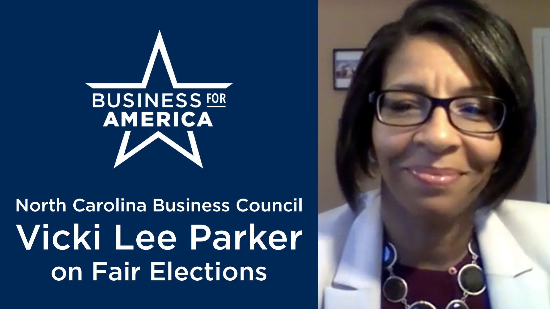 Why Fair Elections Matter to Business with NCBC's Vicki Lee Parker