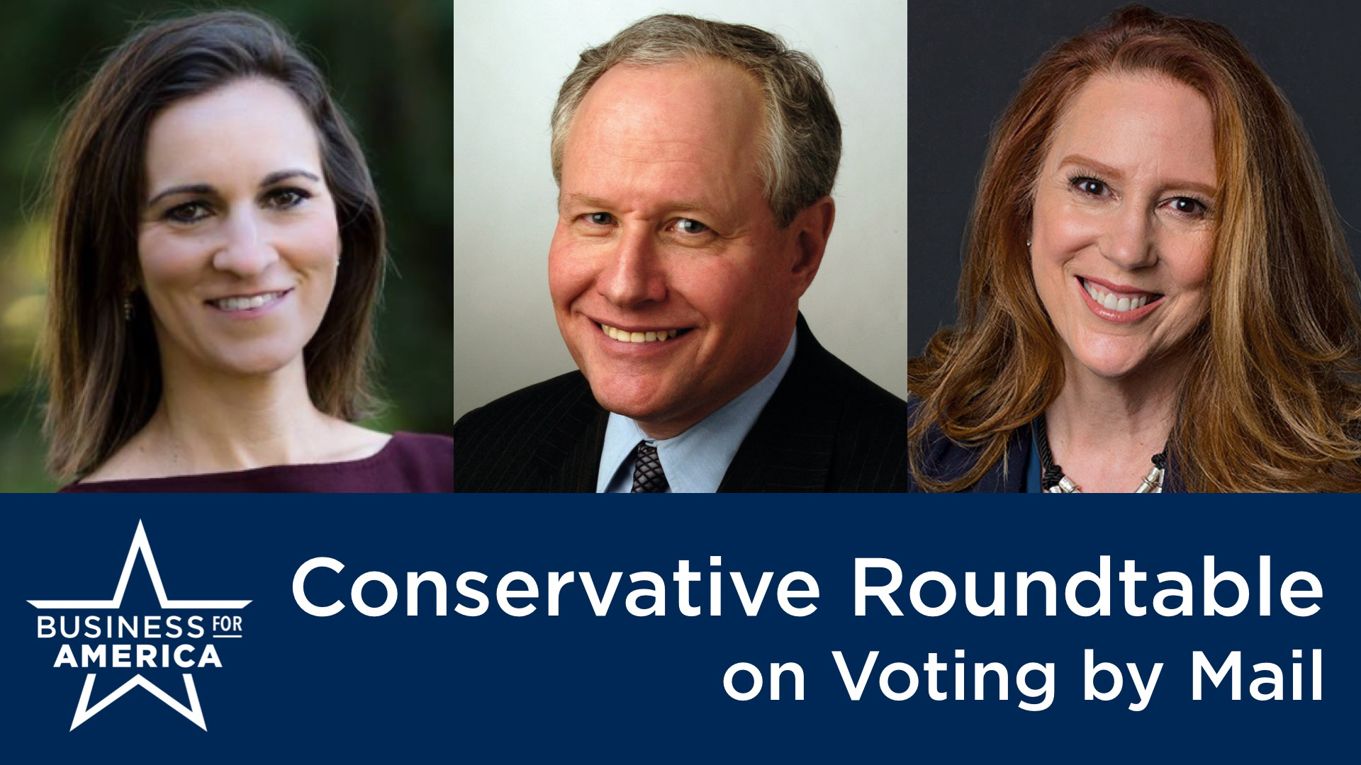 What Do Conservatives Really Think About Vote-by-Mail? Bill Kristol, Kim Wyman & Mindy Finn