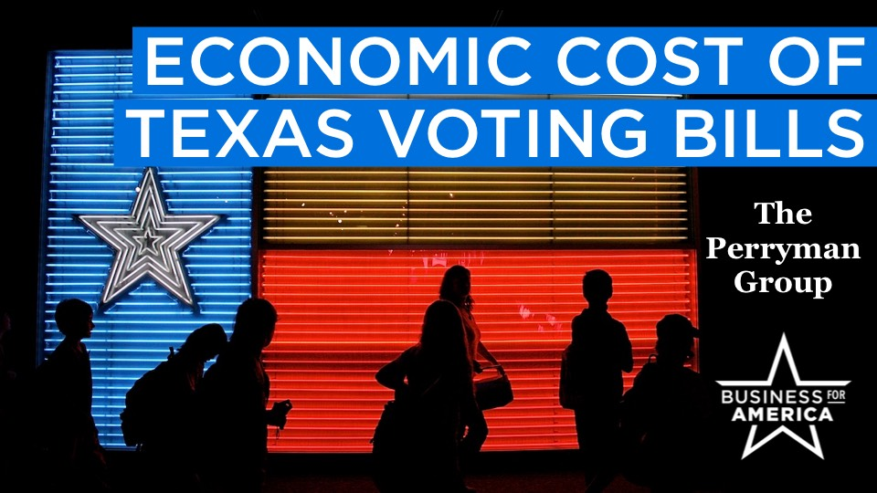 Economic Cost of Texas Voting Bills | Dr Perryman Report