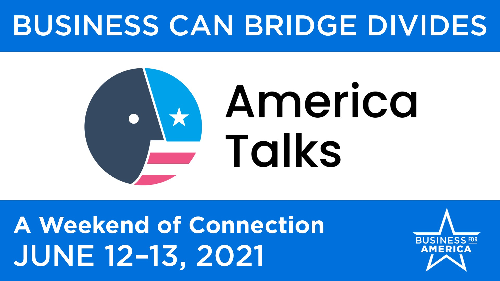 America Talks | Business Can Bridge Divides