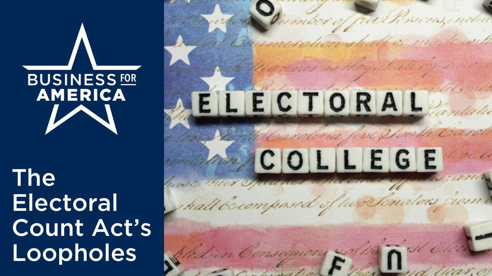 The Electoral Count Act: A Loophole in Our Republic?