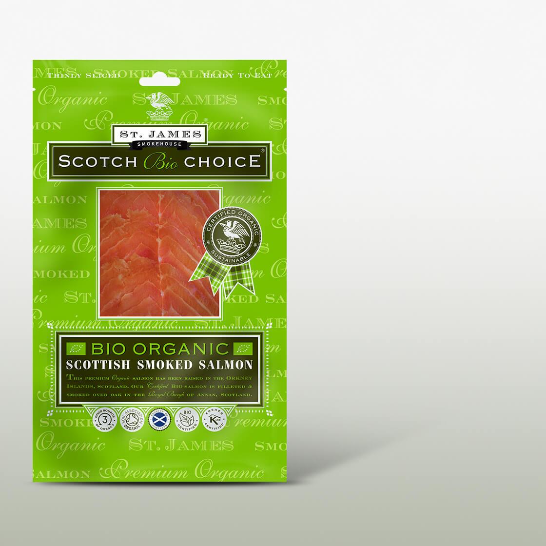 Scotch Choice Bio Smoked Salmon