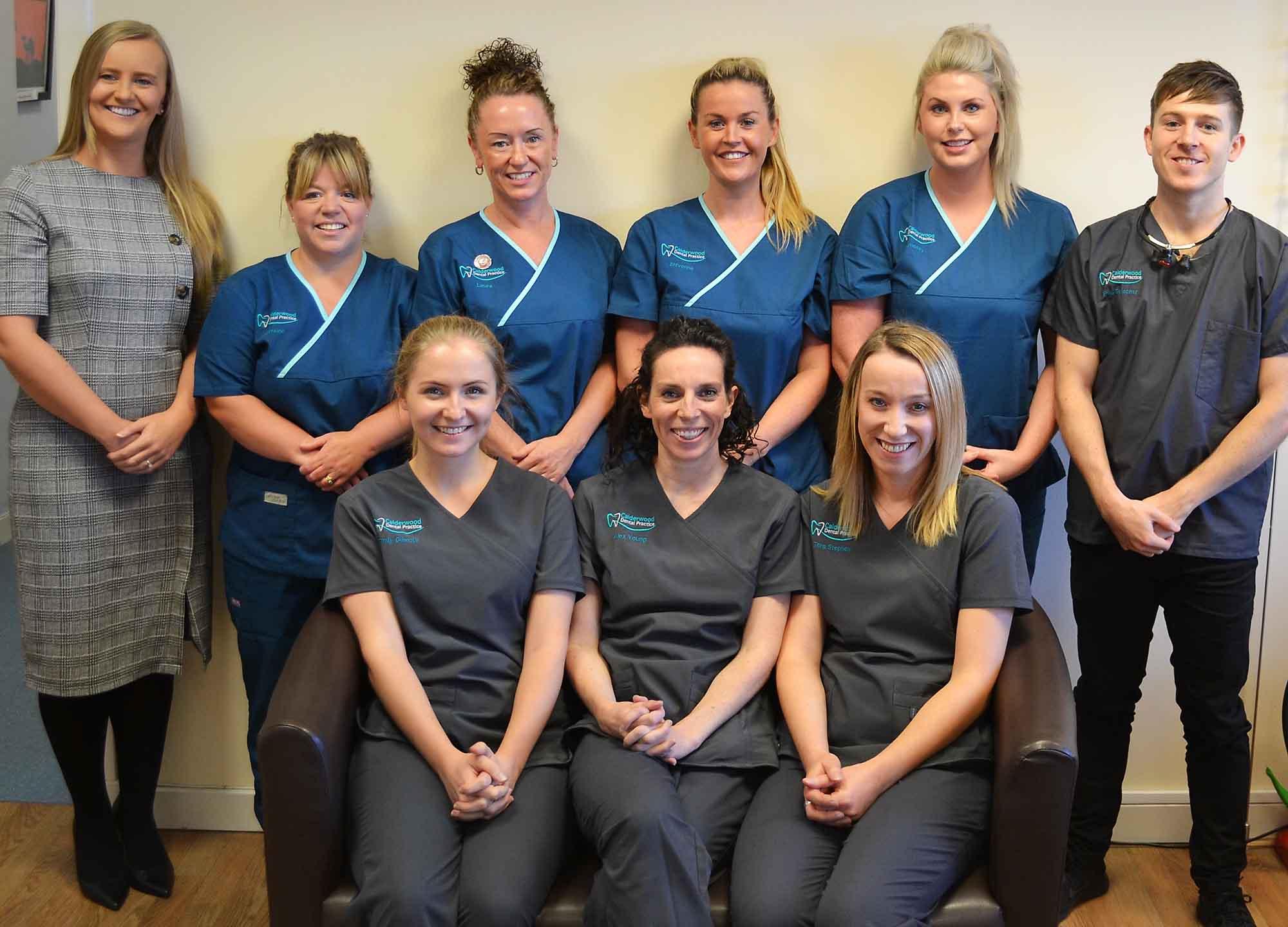 Team at Calderwood Dental Practice