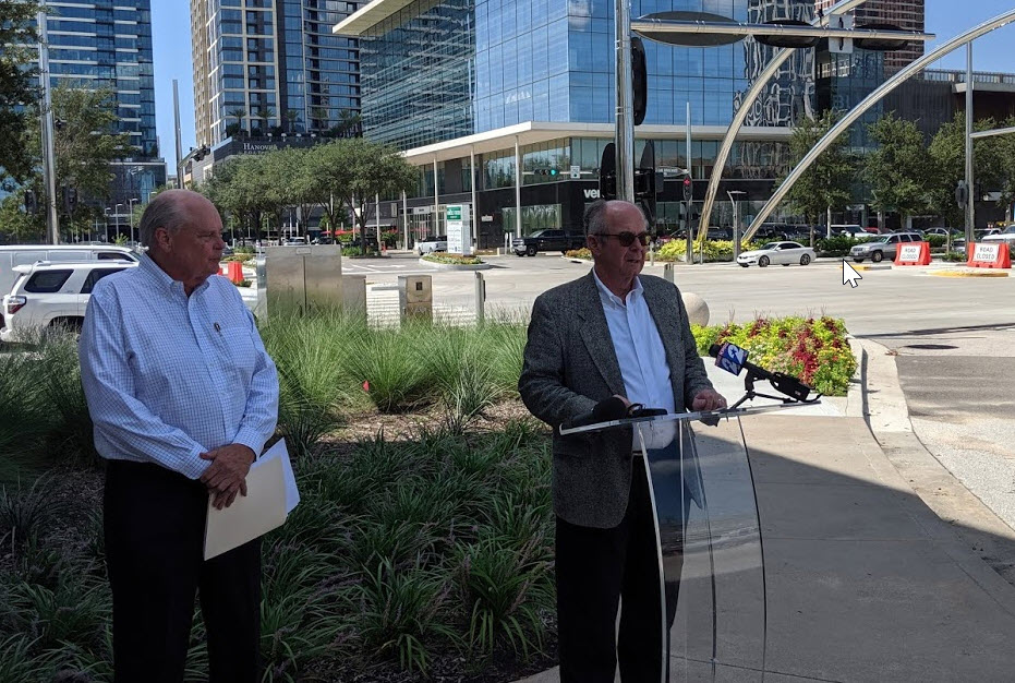 Press Conference announcing the formation of Responsible Houston
