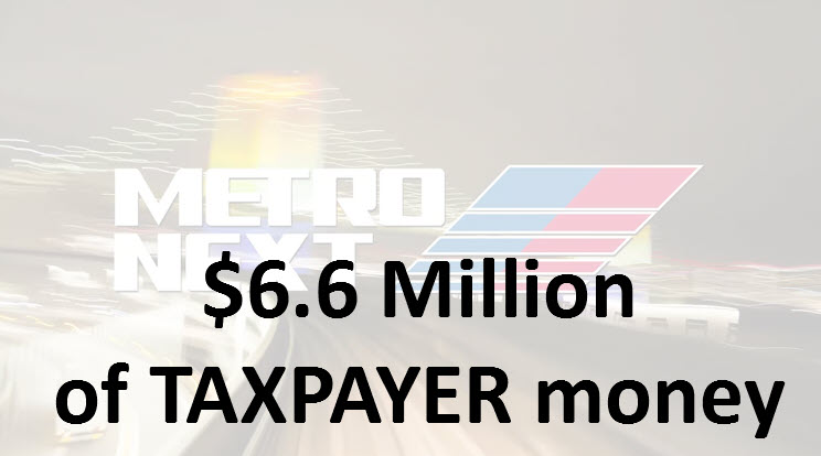 Metro spends $6.6 million of TAXPAYER money promoting Metro Next!