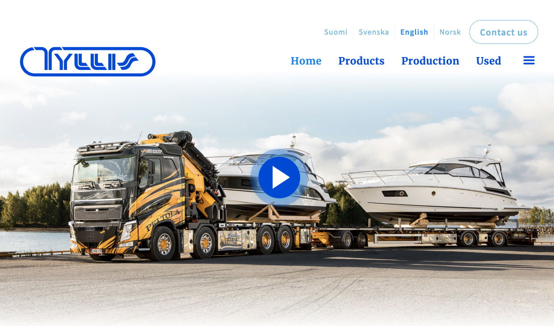 Website for Tyllis by Samuli Jokinen
