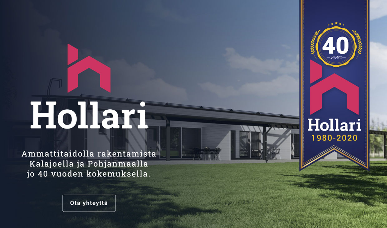 Website for Hollari by Samuli Jokinen