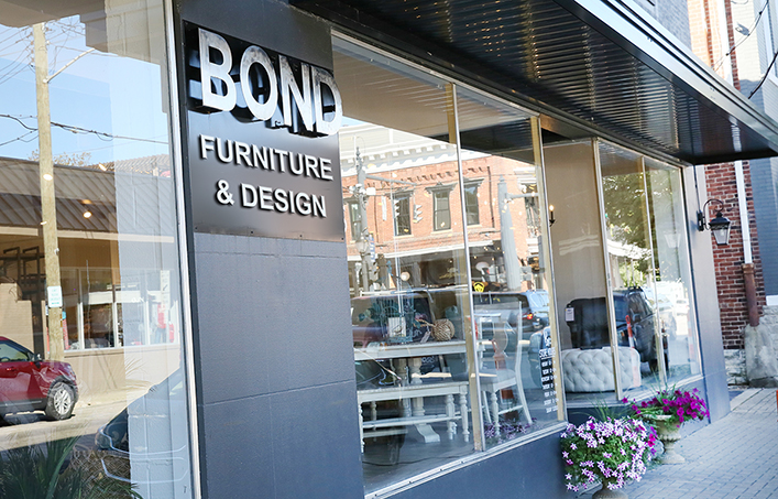 Bond Furniture storefront