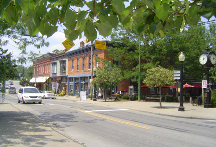 Downtown Loveland, Ohio
