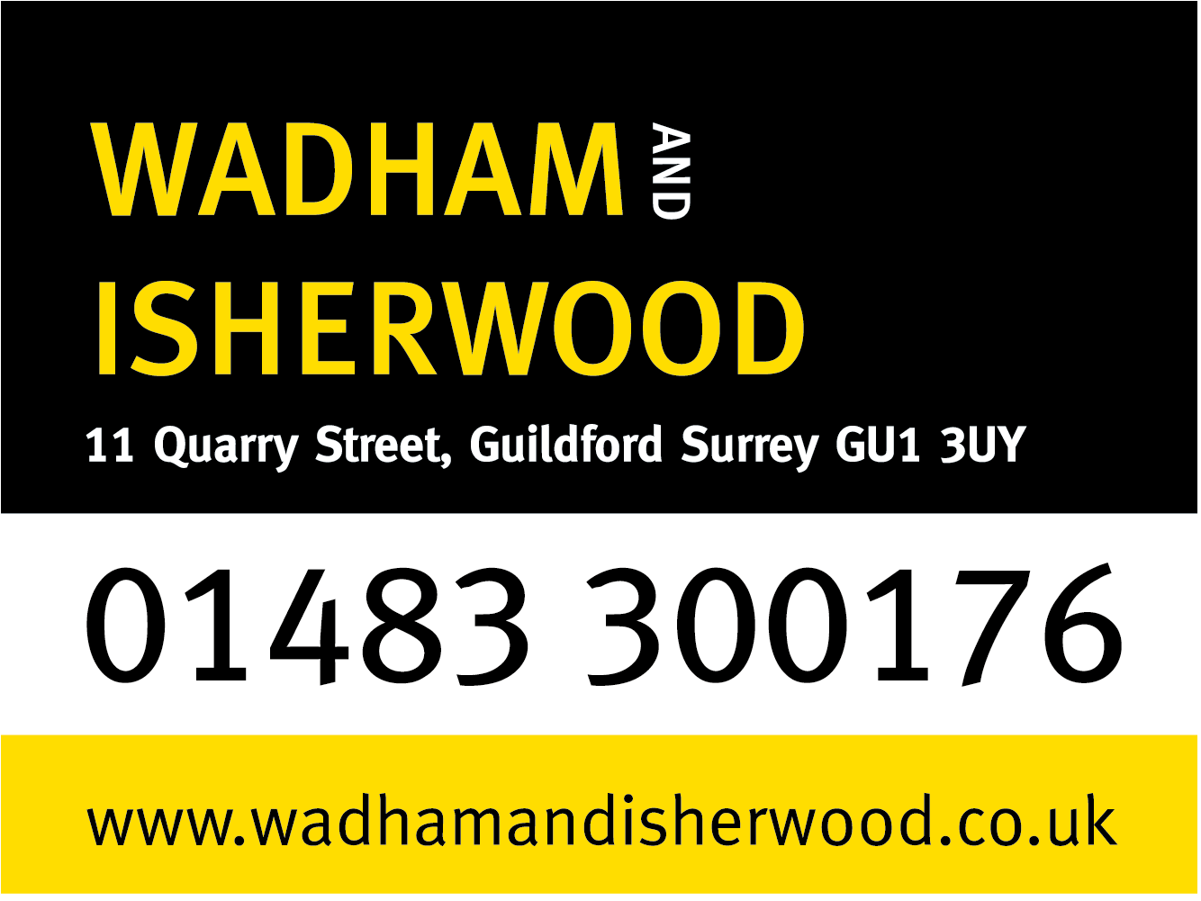 wadham and isherwood logo block