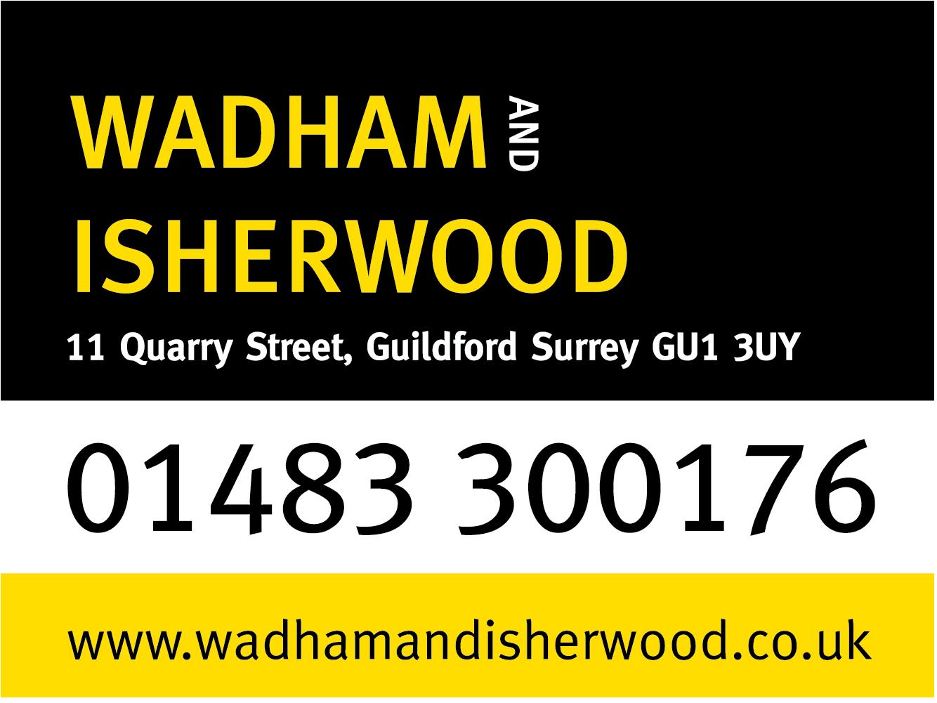 wadham and isherwood logo block
