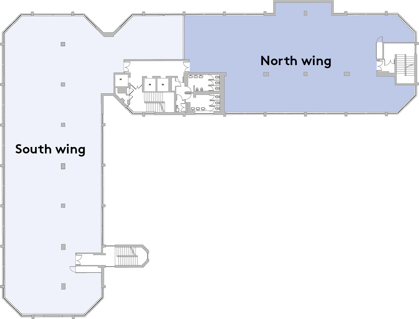 St Andrew's House Woking ground floor plan