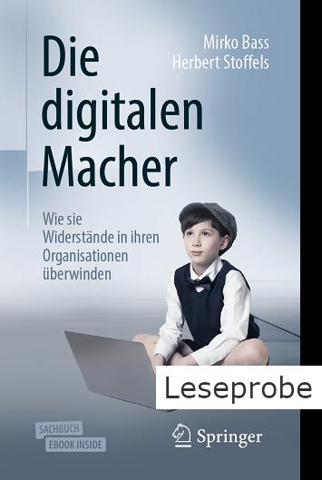Die Digitalen Macher Buch Cover und Leseprobe