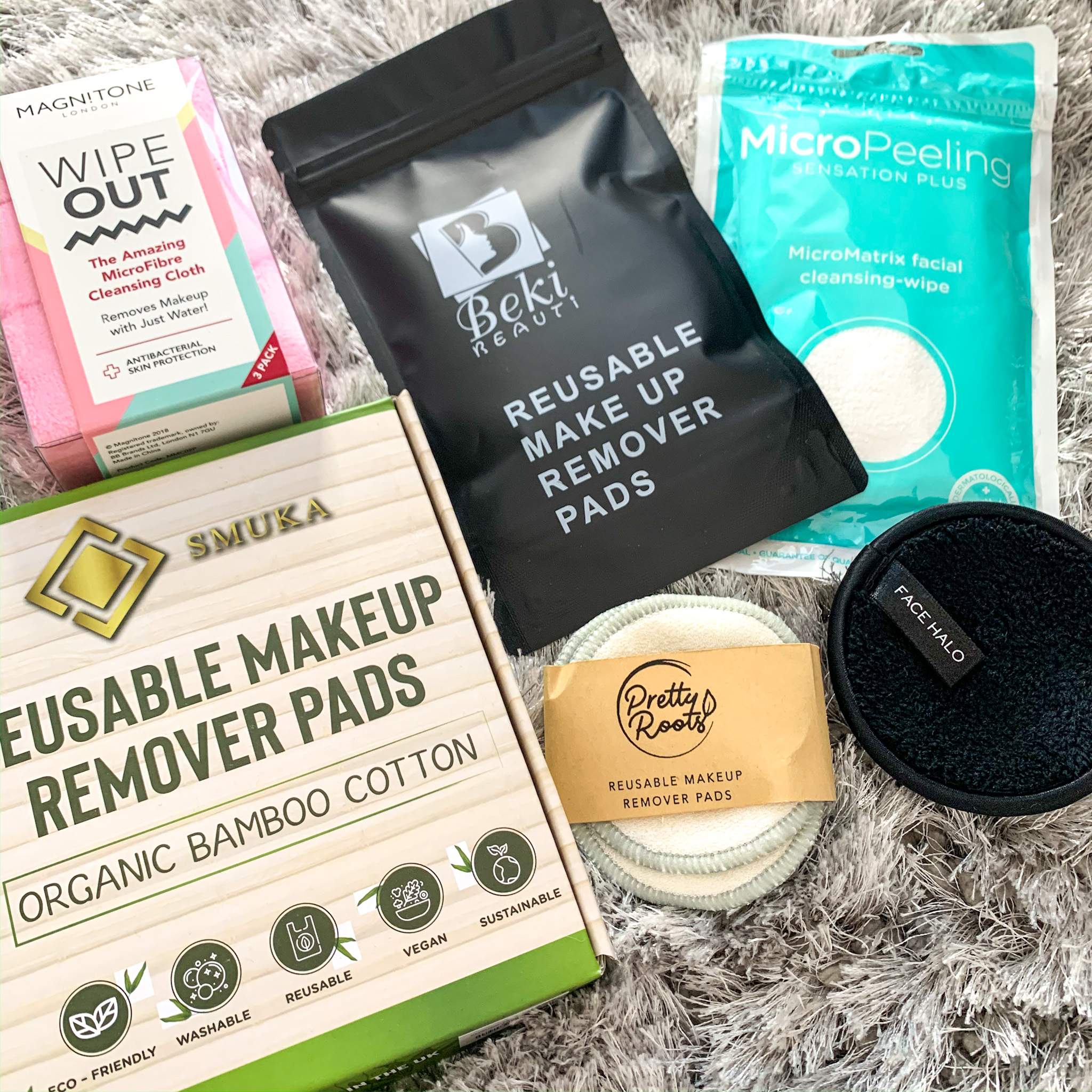 Switch from unsustainable cleansing wipes and pads and try some washable and reusable versions. You can find out about some that I have tried and tested here.