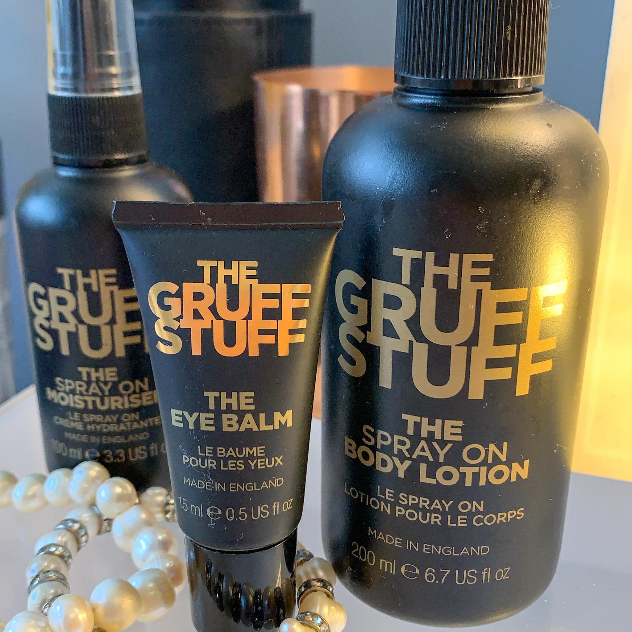 A review of men's, premium & cruelty free skincare brand The Gruff Stuff.