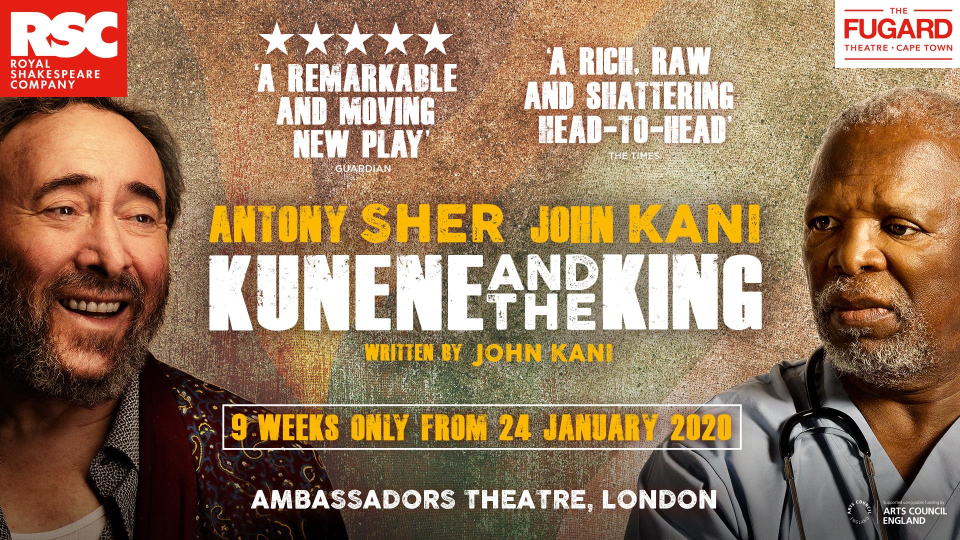 title artwork for Kunene and the King starring John Kani