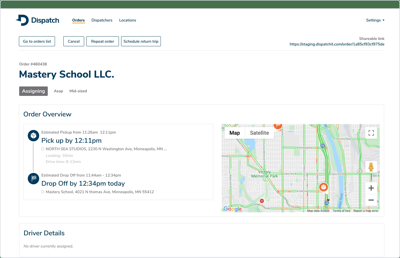 Customer Success Team Dashboard UI